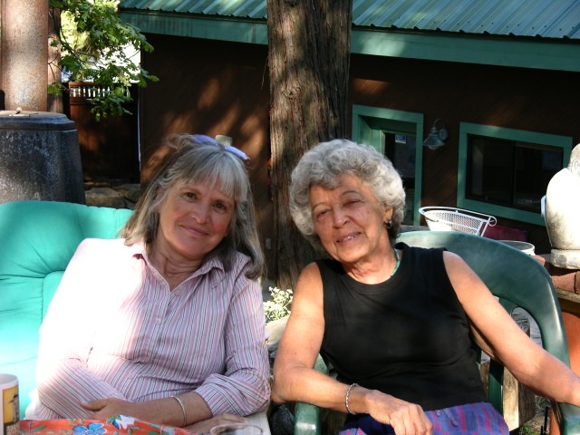 Carol Patterson and Karen Davis